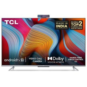 TCL 65 INCH 65P725 IPQ 4K UHD HDR Android TV FRAMELESS